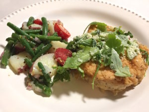 Pan Fried Francese Style Chicken – Blue Apron