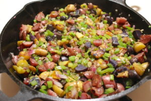 Potatoes O'Brien: Easy Pan Fried Potatoes Recipe