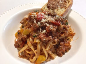 Late Summer Beef Bolognese – Blue Apron