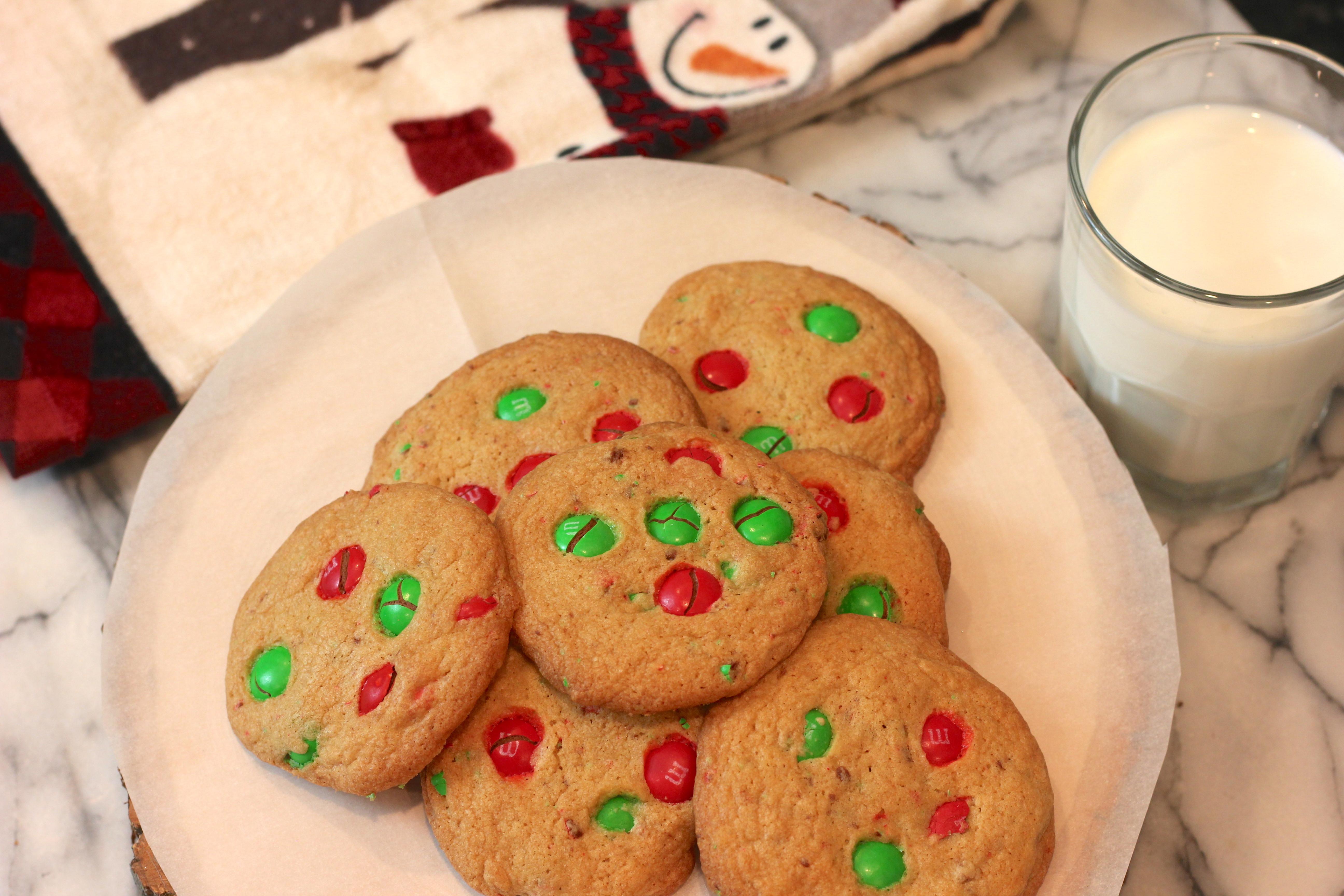 Christmas M M Cookies Recipe